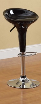Ride Scoop Black Barstool Available Online in Dallas Texas