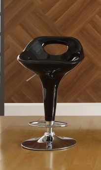 Ride Scoop Back Black Barstool Available Online in Dallas Fort Worth Texas