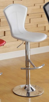 Homelegance Ride High Back White Barstool Available Online in Dallas Fort Worth Texas
