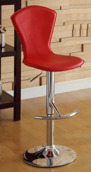 Homelegance Ride High Back Red Barstool Available Online in Dallas Fort Worth Texas