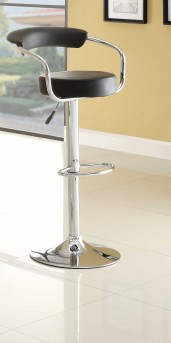 Homelegance Ride Low Back Black Barstool Available Online in Dallas Fort Worth Texas