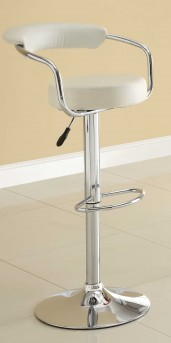 Homelegance Ride Low Back White Barstool Available Online in Dallas Fort Worth Texas