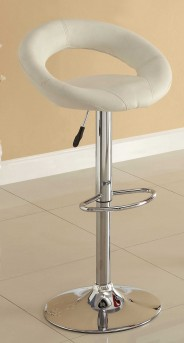 Homelegance Ride Ring White Barstool Available Online in Dallas Fort Worth Texas