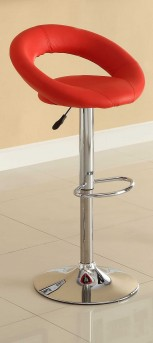 Homelegance Ride Ring Red Barstool Available Online in Dallas Fort Worth Texas