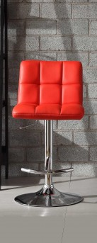Homelegance Ride Waffle Red Barstool Available Online in Dallas Fort Worth Texas
