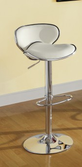 Homelegance Ride Ergo White Barstool Available Online in Dallas Fort Worth Texas