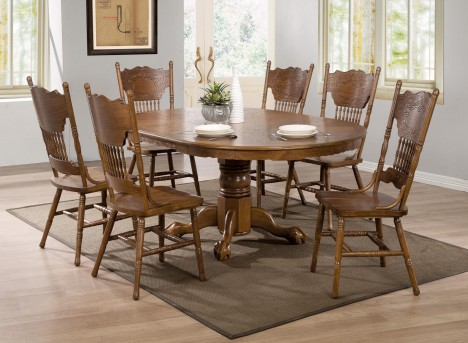 Coaster Brooks 7pc Dining Room Sets Available Online in Dallas Fort Worth Texas