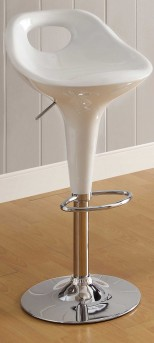 Ride Scoop Back White Barstool Available Online in Dallas Fort Worth Texas