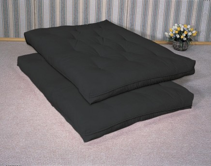 Coaster Deluxe Black Futon Pad Available Online in Dallas Fort Worth Texas