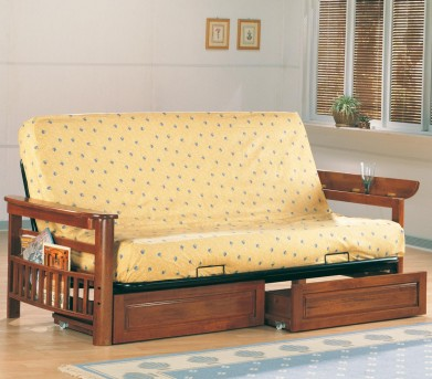 Coaster Weathered Futon Frame Available Online in Dallas Fort Worth Texas