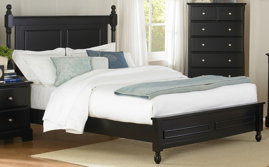 Morelle Black Queen Bed Available Online in Dallas Fort Worth Texas