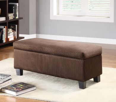Claire Chocolate Storage Ottoman Available Online in Dallas Fort Worth Texas