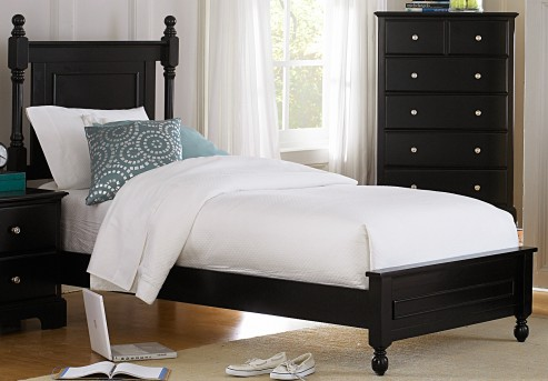 Homelegance Morelle Black Twin Bed Available Online in Dallas Fort Worth Texas