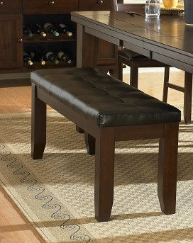 Homelegance Ameillia Dark Oak 60''Bench Available Online in Dallas Fort Worth Texas