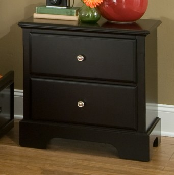 Morelle Black Night Stand Available Online in Dallas Fort Worth Texas