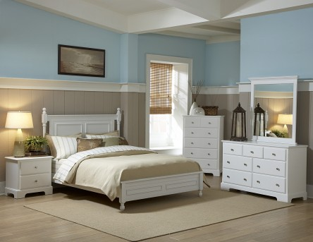 Morelle White Queen 5pc Bedroom Group Available Online in Dallas Fort Worth Texas