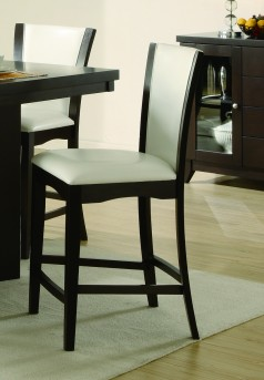 Homelegance Daisy White Counter Height Chair Available Online in Dallas Fort Worth Texas