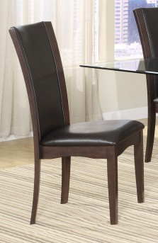 Homelegance Daisy Dark Brown Side Chair Available Online in Dallas Fort Worth Texas