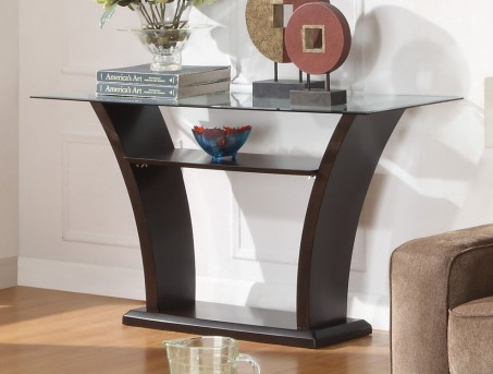 Homelegance Daisy Espresso Sofa Table Available Online in Dallas Fort Worth Texas