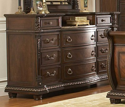 Homelegance Palace Marble Top Dresser Available Online in Dallas Fort Worth Texas