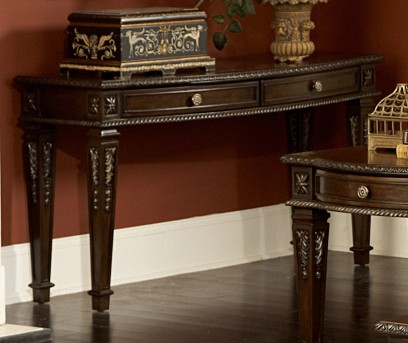 Homelegance Palace Dark Brown Sofa Table Available Online in Dallas Fort Worth Texas