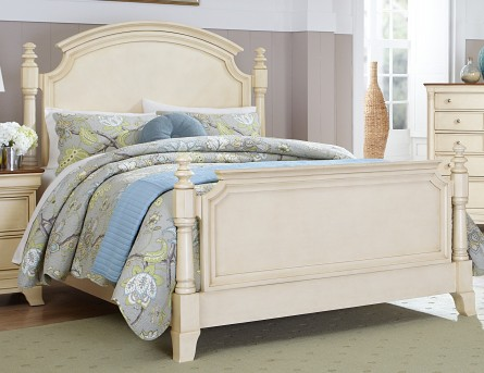 Homelegance Inglewood White King Panel Bed Available Online in Dallas Fort Worth Texas