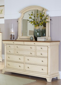 Homelegance Inglewood White Dresser Available Online in Dallas Fort Worth Texas