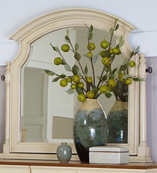 Homelegance Inglewood White Swivel Mirror Available Online in Dallas Fort Worth Texas