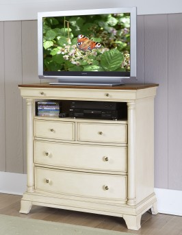 Homelegance Inglewood White Media Chest Available Online in Dallas Fort Worth Texas