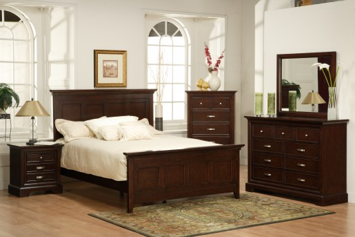 Glamour Queen 5pc Bedroom Group Available Online in Dallas Fort Worth Texas