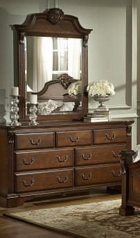 Homelegance Legacy Cherry Dresser Available Online in Dallas Fort Worth Texas
