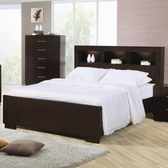 Coaster Jessica Cappuccino Cal King Bed Available Online in Dallas Fort Worth Texas