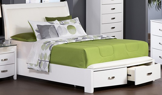 Homelegance Lyric White King Bed Available Online in Dallas Fort Worth Texas