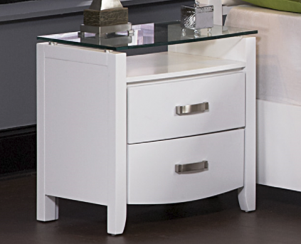 Homelegance Lyric White Night Stand Available Online in Dallas Fort Worth Texas