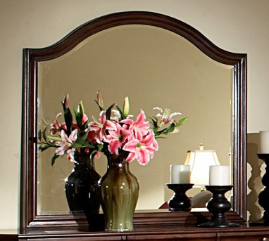 Homelegance Karla Cherry Mirror Available Online in Dallas Fort Worth Texas