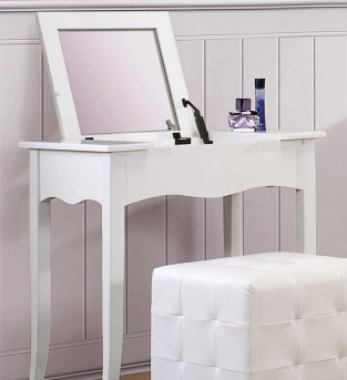 Homelegance Sparkle Vanity With Lift Top Mirror Available Online in Dallas Fort Worth Texas