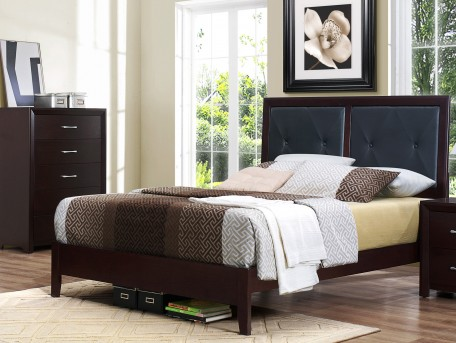 Homelegance Edina King Low Profile Bed Available Online in Dallas Fort Worth Texas