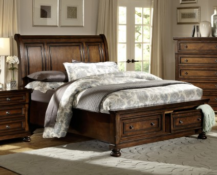 Homelegance Cumberland King Platform Storage Bed Available Online in Dallas Fort Worth Texas