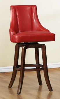 Homelegance Annabelle Red Pub Height Chair Available Online in Dallas Fort Worth Texas