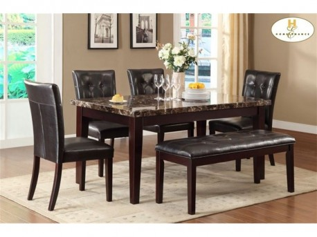 Homelegance Teague Espresso Dining Table Available Online in Dallas Fort Worth Texas