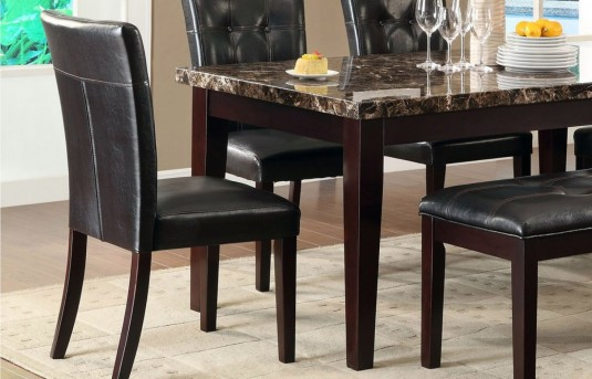 Homelegance Teague Espresso Side Chair Available Online in Dallas Fort Worth Texas
