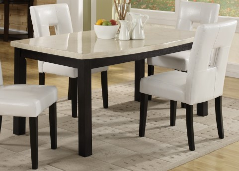 Homelegance Archstone White Square Dining Table Available Online in Dallas Fort Worth Texas