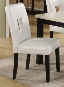 Homelegance Archstone White Side Chair Available Online in Dallas Fort Worth Texas