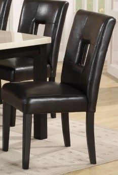 Homelegance Archstone Black Side Chair Available Online in Dallas Fort Worth Texas