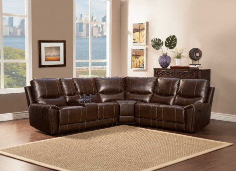 Gerald Brown Double Recliner Loveseat Available Online in Dallas Fort Worth Texas