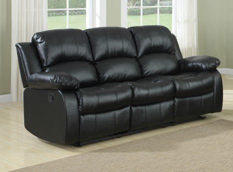 Homelegance Cranley Black Reclining Sofa Available Online in Dallas Fort Worth Texas
