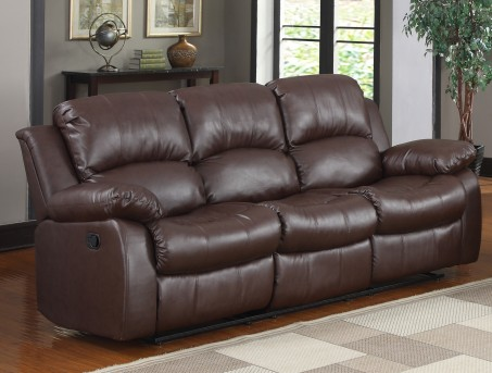 Homelegance Cranley Brown Reclining Sofa Available Online in Dallas Fort Worth Texas