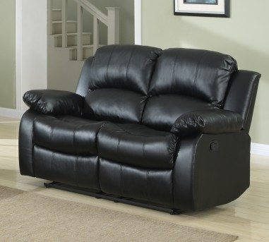 Homelegance Cranley Black Reclining Loveseat Available Online in Dallas Fort Worth Texas