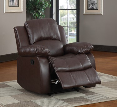 Homelegance Cranley Brown Reclining Chair Available Online in Dallas Fort Worth Texas