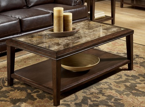 Homelegance Belvedere Espresso Coffee Table Available Online in Dallas Fort Worth Texas